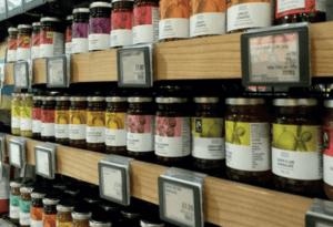 Digitale prijskaartje SES-imagotag in retail